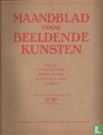 Maandblad voor Beeldende Kunsten 10 Twee en Twintigste jaargang