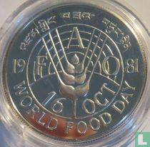 "Bhutan 50 ngultrums 1981 (PROOF) ""FAO - World Food Day"""