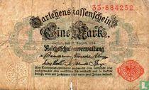 Reichsschuldenverwaltung, 1 Mark 1914 (51a)