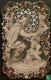 Jésus bénissant les petits enfants