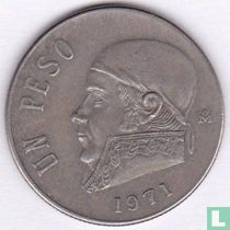 Mexico 1 peso 1971