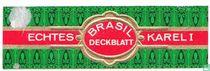Brasil Deckblatt - Echtes - Karel I