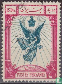 10e Verjaardag van de coup van Pahlavi