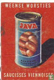 Java - Weense worstjes