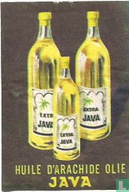 Huile d'arachide olie Java