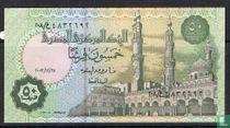 Egypt 50 piastres 2003 , 25 december