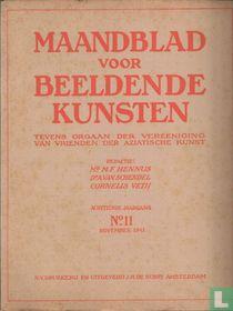 Maandblad voor Beeldende Kunsten 11 achttiende jaargang