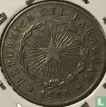Paraguay 10 centavos 1908