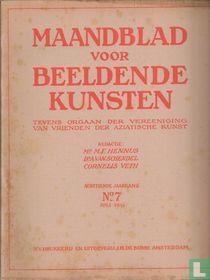 Maandblad voor Beeldende Kunsten 7 achttiende jaargang