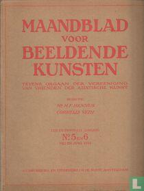 Maandblad voor Beeldende Kunsten 5 Een en twintigste jaargang