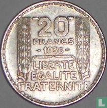 Frankrijk 20 francs 1936