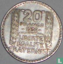 Frankrijk 20 francs 1932