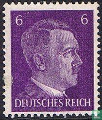 Plaatfout 6pf, Adolf Hitler. Nr 785.