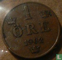 Zweden 1 öre 1902