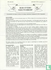 Bob Evers Nieuwsbrief 1