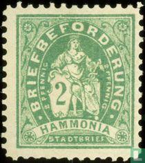 Briefbezorging Hammonia - zittend