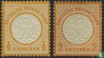 1872 Adelaar klein borstschild (DR 4)