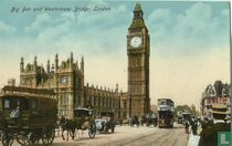 Big Ben and Westminster Bridge, London