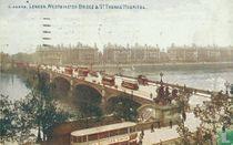 Westminster Bridge & St. Thomas Hospital