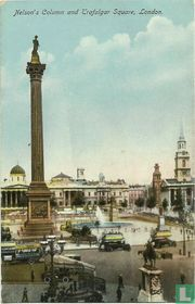 Nelson's Column and Trafalgar Square, London