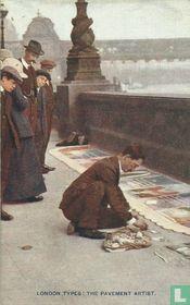 London Types: the Pavement Artist