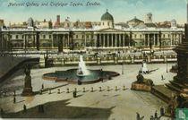 National Gallery and Trafalgar Square, London