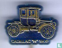 """Cadillac """"H"""" 1906 [goud op blauw]"""