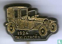 Taxi Citroën 1924 [goud op zwart]