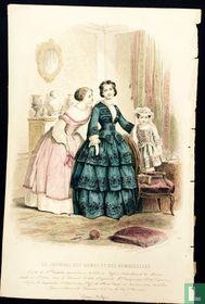 Toilette de Melle Nathalie, Deux femmes et une petite fille - (1850-1855) - 363
