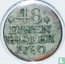 Pruisen 1/48 thaler 1780