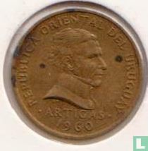 Uruguay 2 centésimos 1960