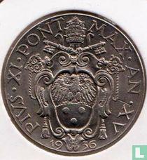 Vatcaan 2 lire 1936