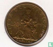 Vaticaan 20 lire 1963 (jaar 1)