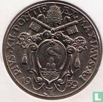 Vaticaan 2 lire 1939