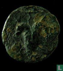 Judea  AE18  (Sjimon Bar Kochba, jaar 1) 132 - 133