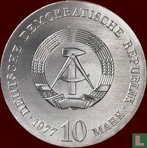 "DDR 10 mark 1977 ""375th anniversary Birth of Otto von Guericke"""