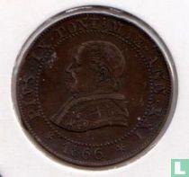 Kerkelijke Staat 1 soldo 1866/XXl