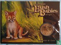 "Australia 1 dollar 2011 (coincard) ""Bush Babies - Dingo"""