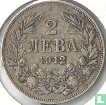 Bulgarije 2 leva 1912