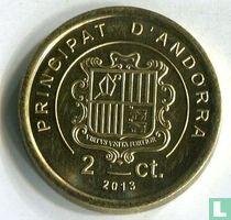 "Andorra 2 cèntims 2013 ""Grandalla"""