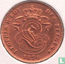België 2 centimes 1876