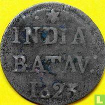 Indes néerlandaises ½ stuiver 1823