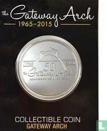 USA  St. Louis, MO - Gateway Arch 50th Anniversary Collectible Coin  1965 - 2015