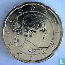 Belgium 20 cent 2015