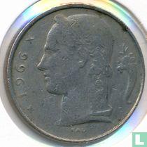 België 5 francs 1966 (FRA - muntslag)