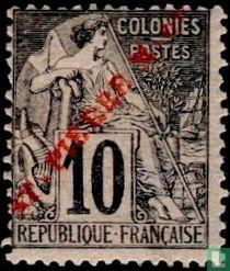 St-Pierre Dubois Typ M auf '-print rot