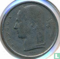 België 5 francs 1950 (NLD - muntslag)