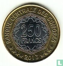 "Comoren 250 francs 2013 ""30th anniversary of the Central Bank of the Comoros"""
