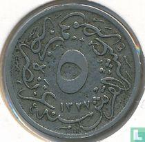 Ägypten 5/10 Qirsh 1914 (Jahr 1327/6)