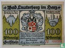 Lauterberg, Bad 100 Pfennig 1921